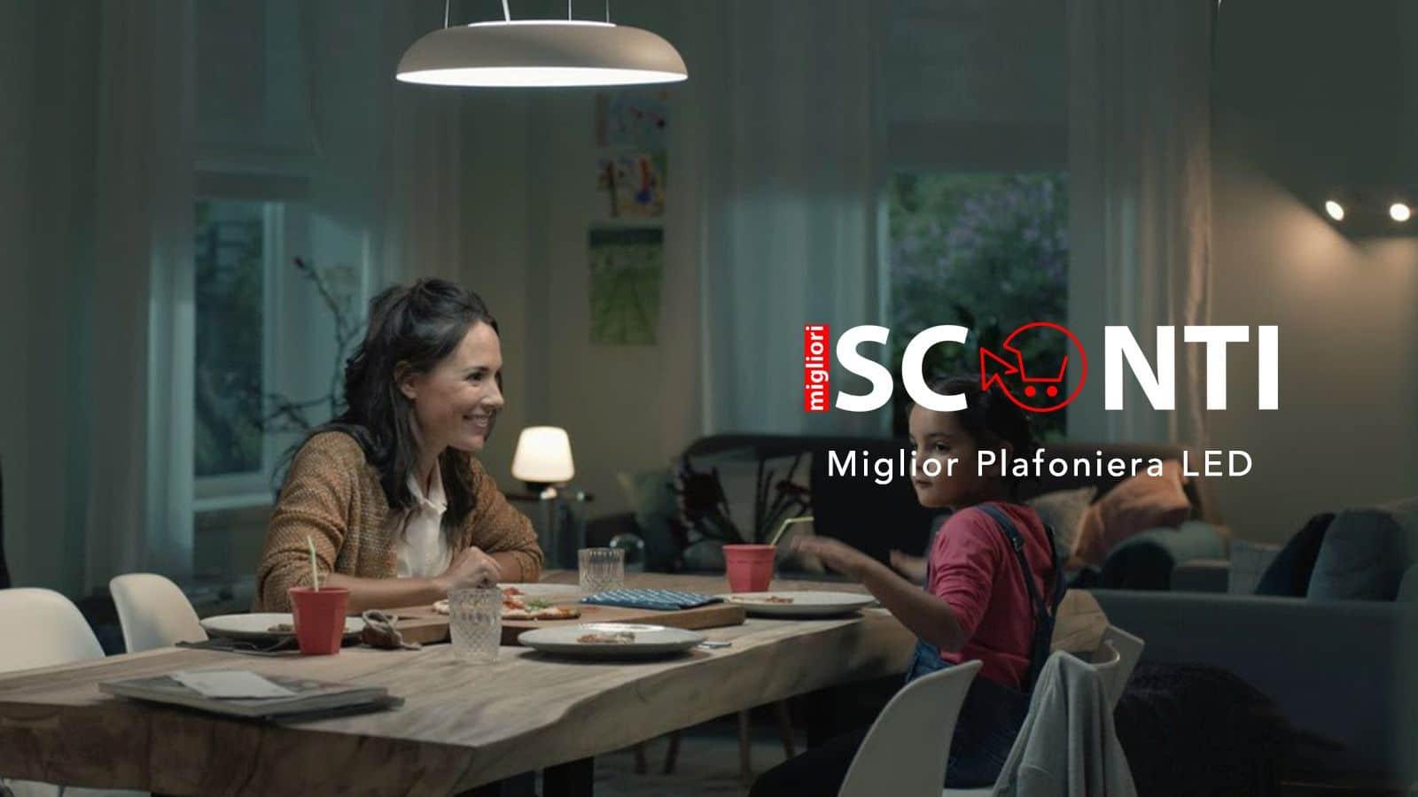 Plafoniere Tonde A Led : Miglior plafoniera led soffitto e smart u2022 aprile 2019 sconti migliori
