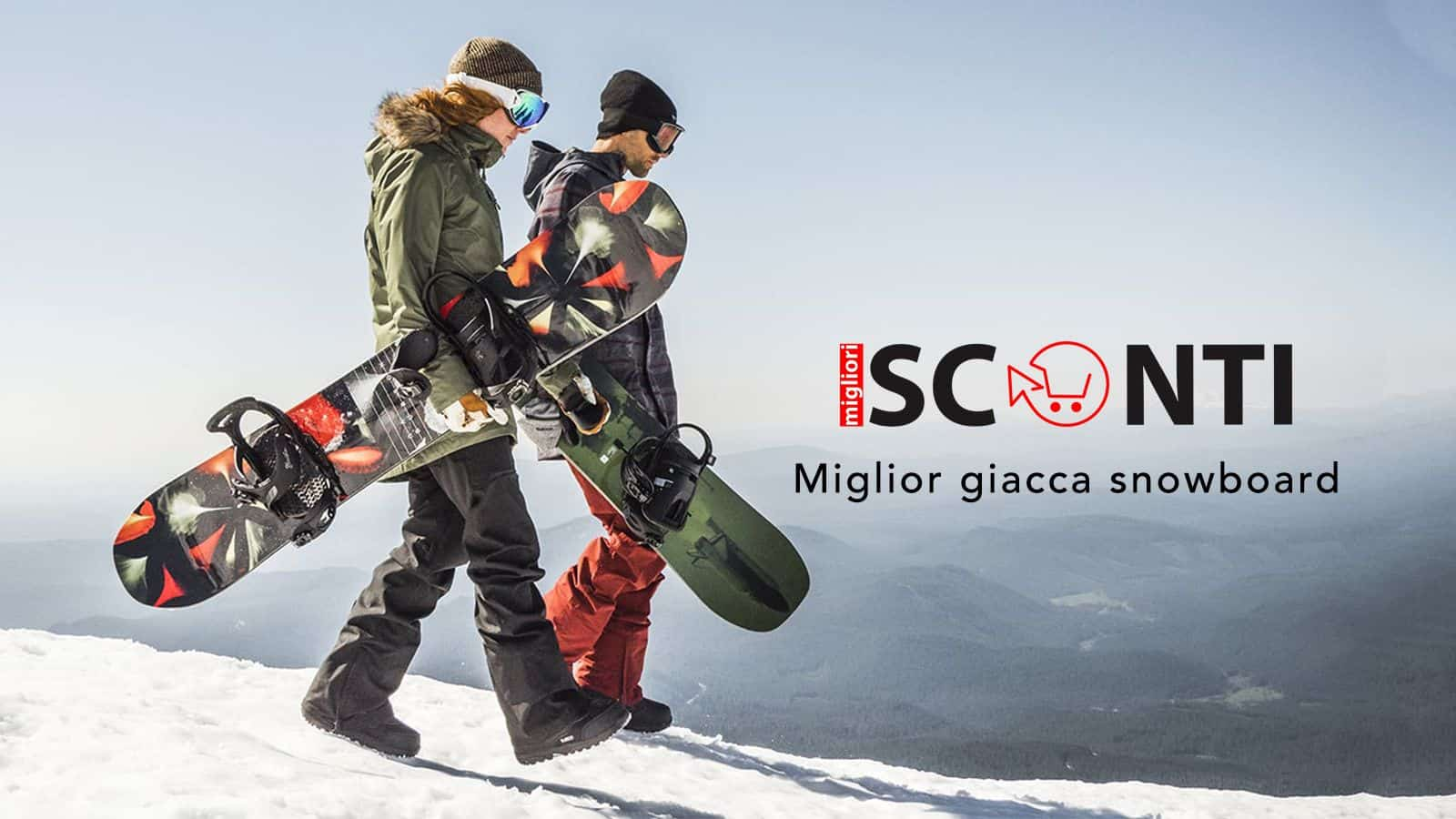 Giacca snowboard