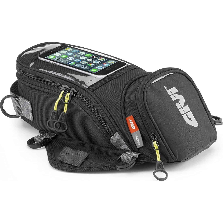 ae82384419 Givi EA106B Easybag è una valigia viaggio per moto da serbatoio con una  capacità di 6 litri realizzata in poliestere 600d e laminato PU, tutti  materiali ...