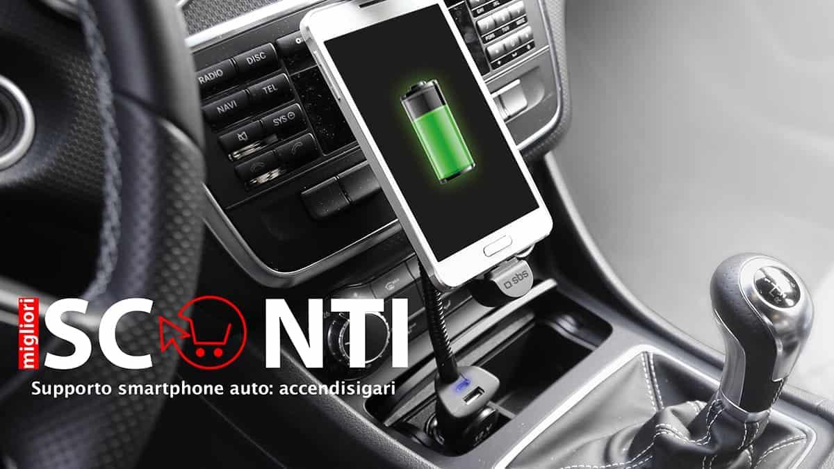 supporto smartphone auto