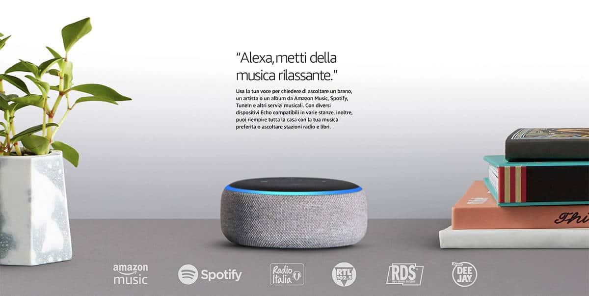 Amazon Echo Italia