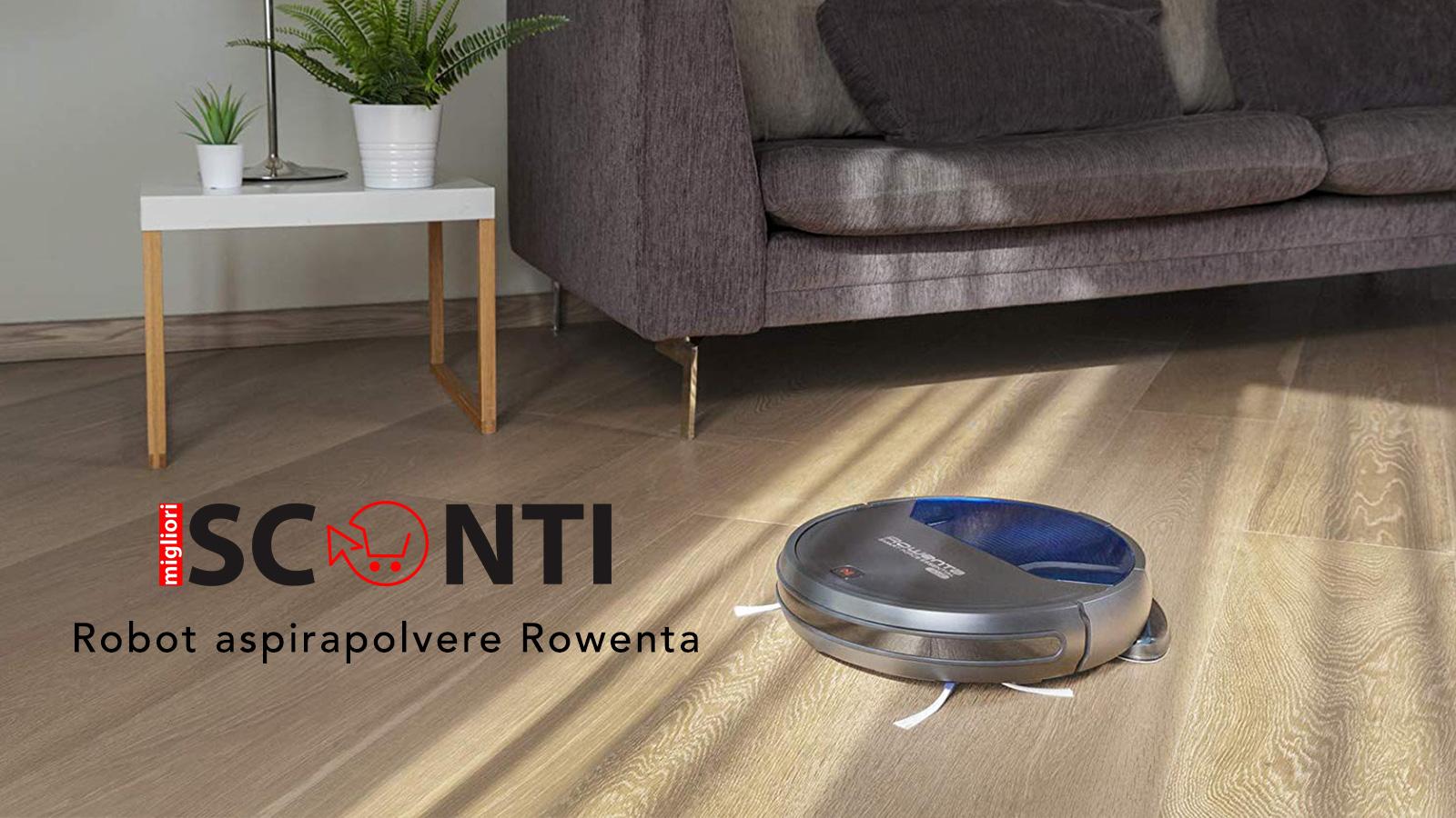 robot aspirapolvere Rowenta