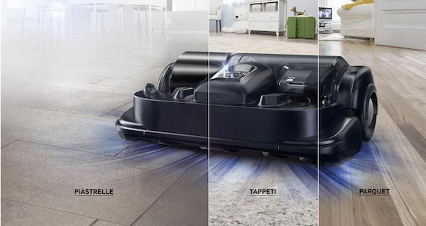 robot aspirapolvere Samsung migliore