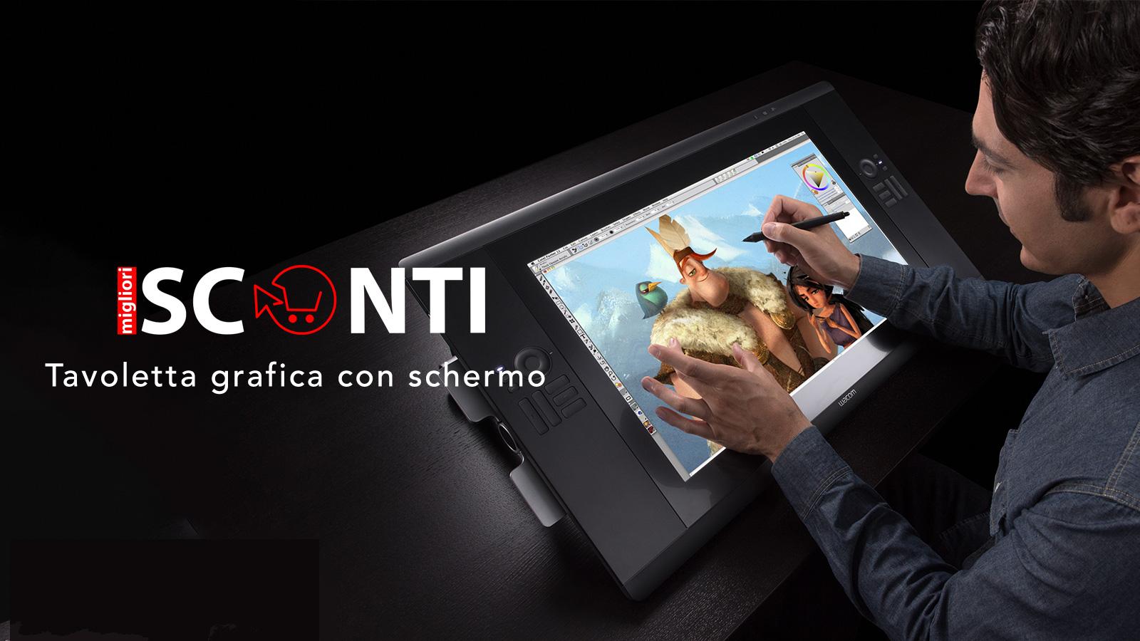 tavoletta grafica con schermo