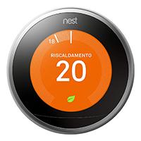 termostato google home